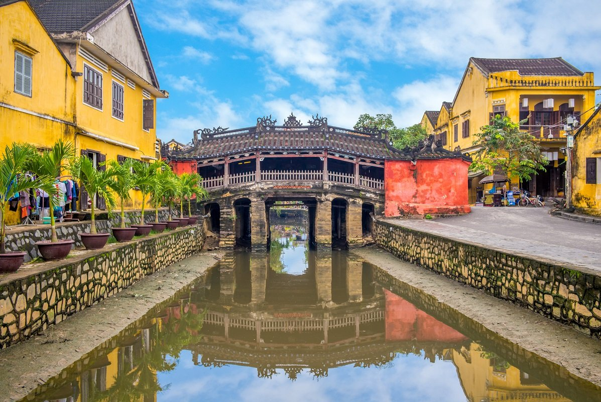 Hoi An's Japanese Bridge dating back to the 18th century